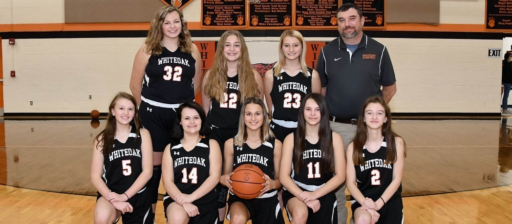 Whiteoak 8th Grade Girls Basketball 2020-2021
