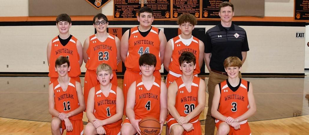 Whiteoak 8th Grade Boys Basketball 2020-2021
