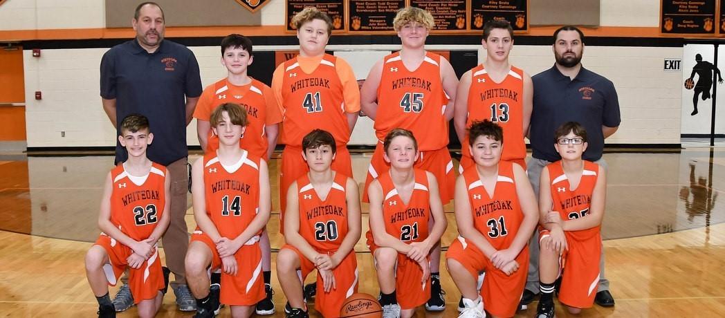 Whiteoak 7th Grade Boys Basketball 2020-2021