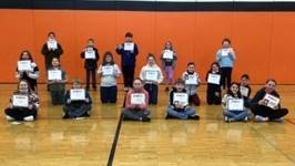 5th Grade - A/B Honor Roll