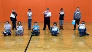 Extra Effort Awards - 1st Grade