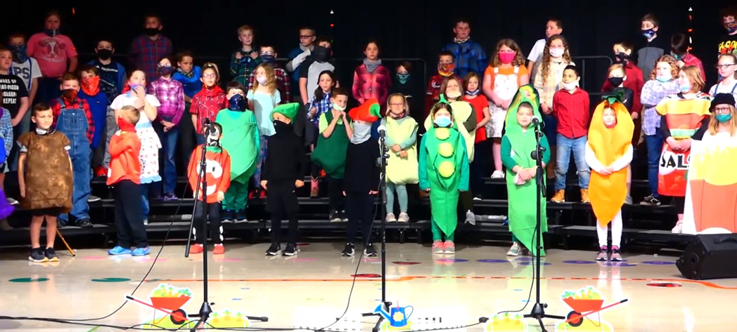 """Bright Elementary's 2021 Spring Musical """"How Does Your Garden Groove"""""""