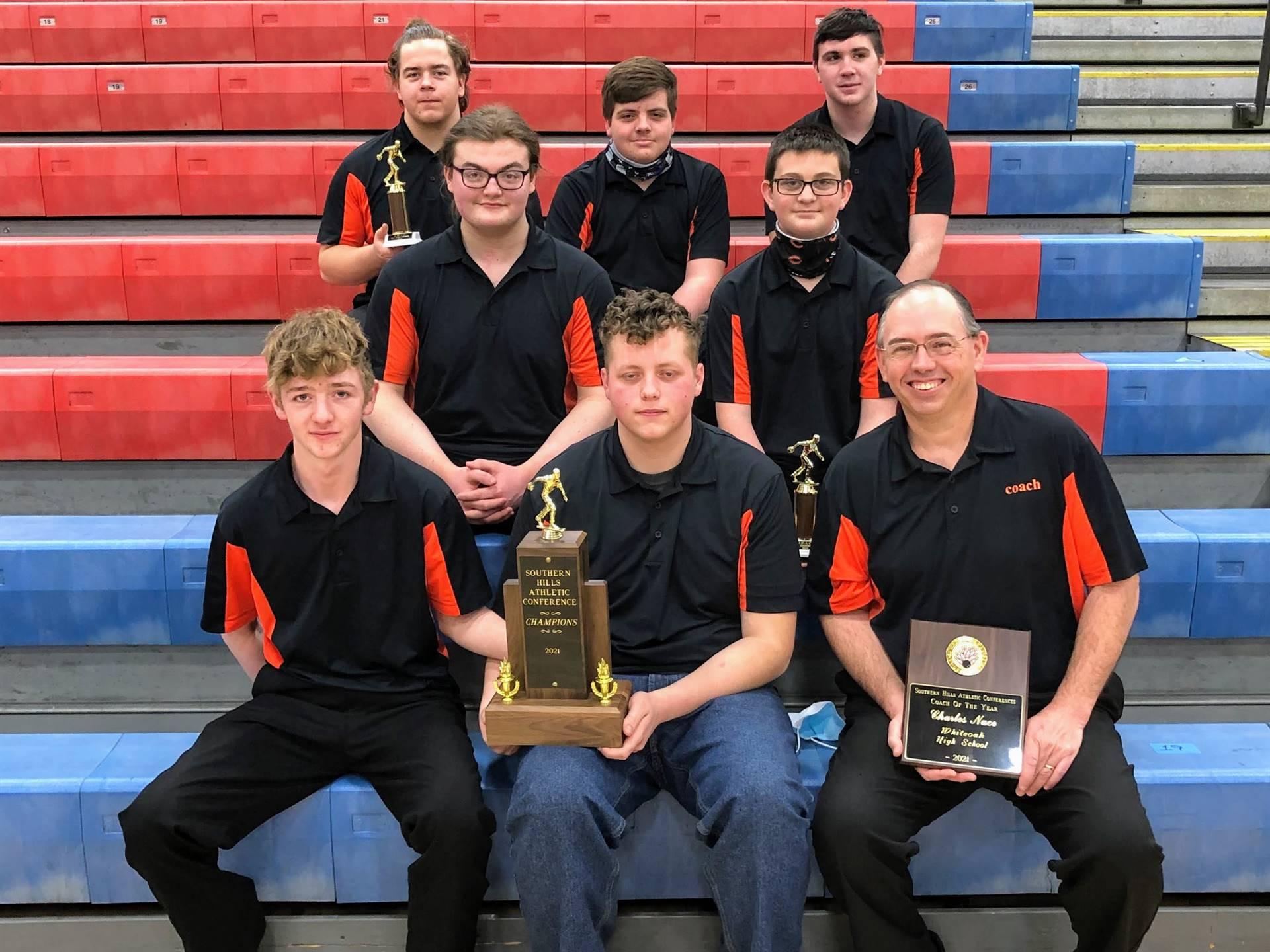 Boys Bowling SHAC Champions 2021